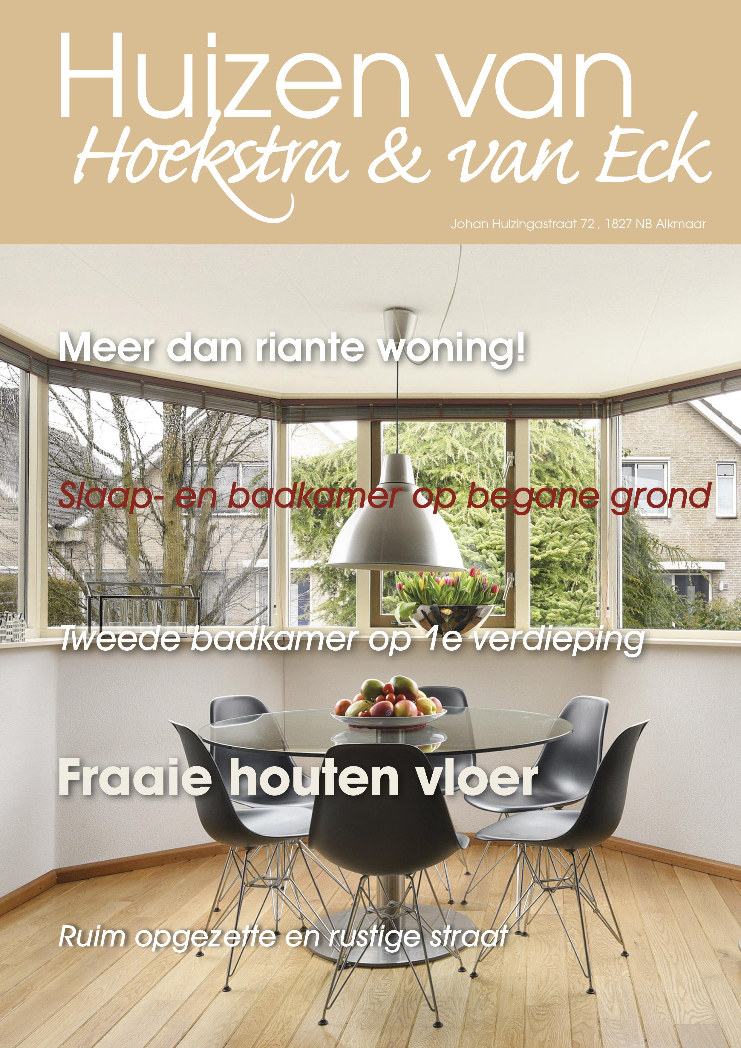 Te koop: Johan Huizingastraat 72, Alkmaar - Hoekstra en van Eck